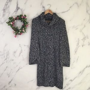 INC International Concepts Cowl Neck Sweater Dress